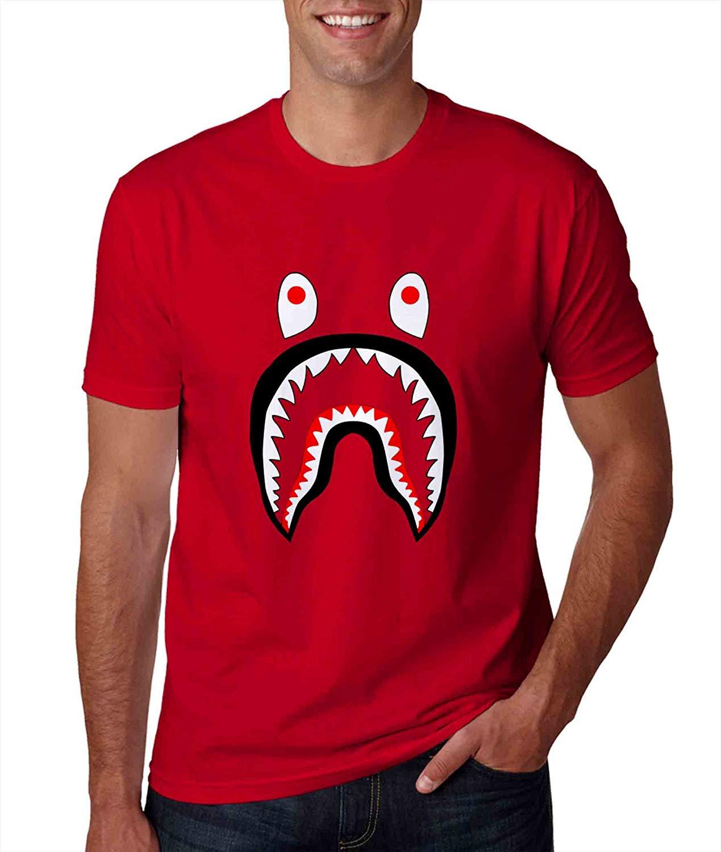 Bape Shark Tshirt For Man