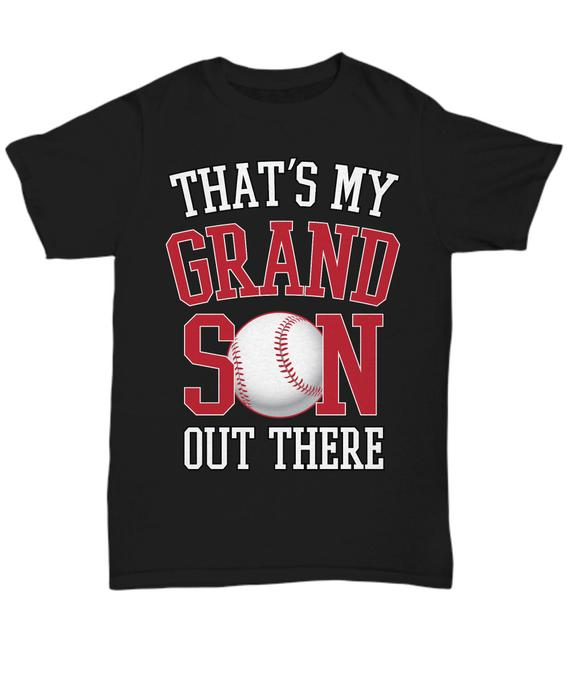 Baseball Grandpa Gift Baseball Momma Baseball Grandma Shirt Baseball Grandparent Shi