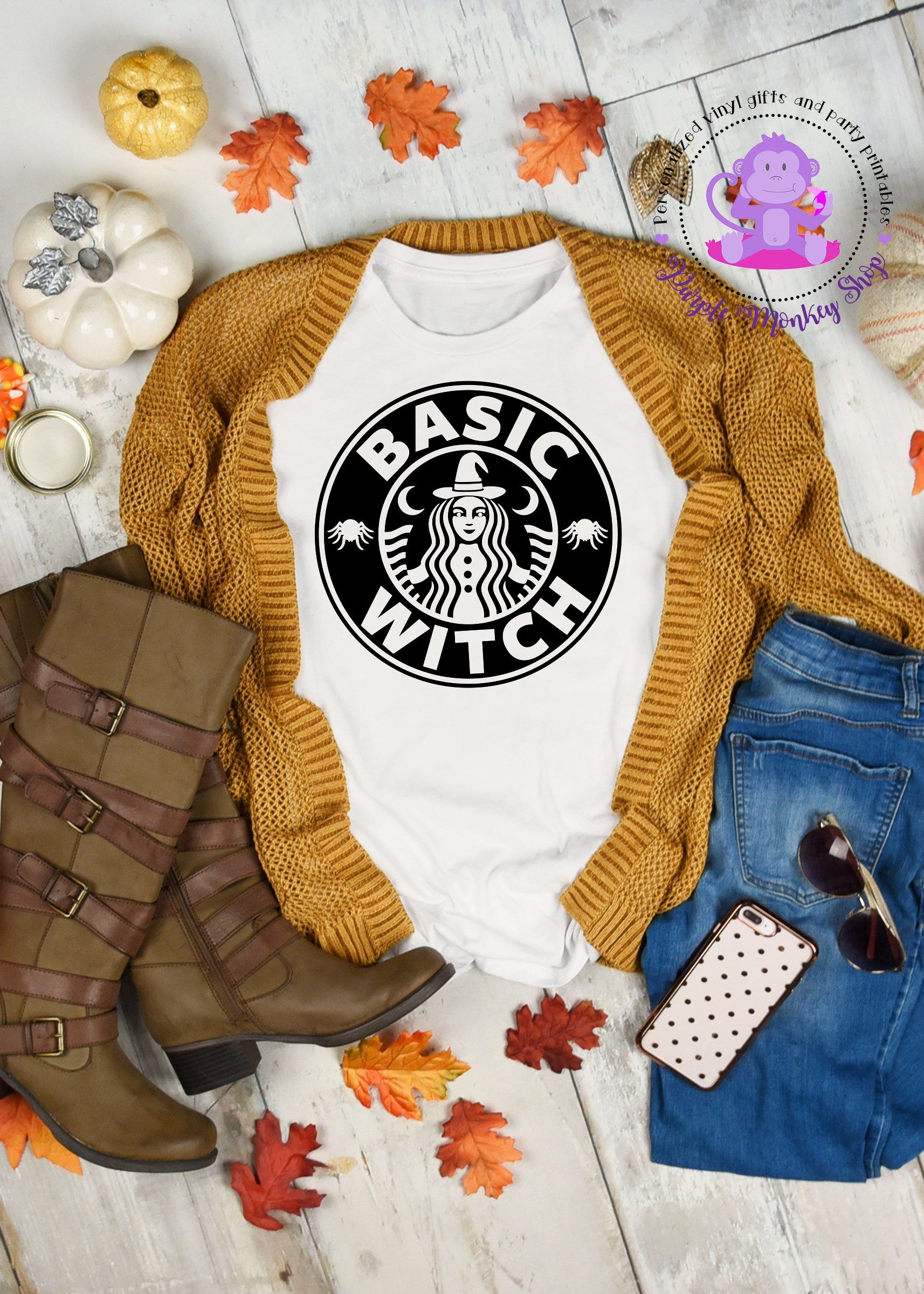 Basic Witch Starbucks Halloween Shirts