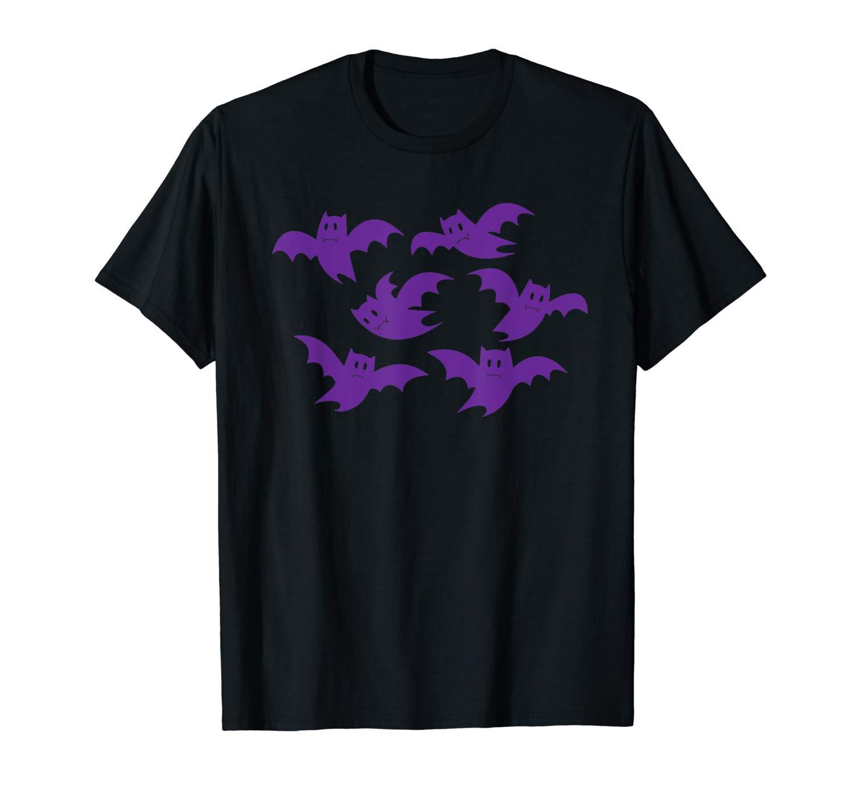 Bats Halloween Bats Lovers Gift Halloween Horror Funny T Shirt