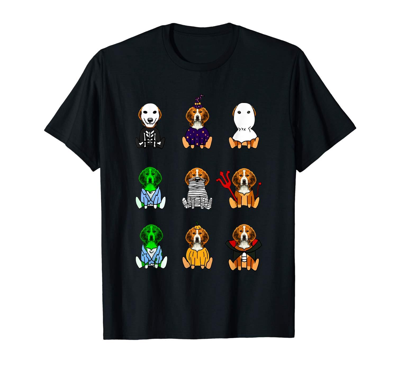 Beagle Dog Lover Halloween Shirt Beagl T Shirt