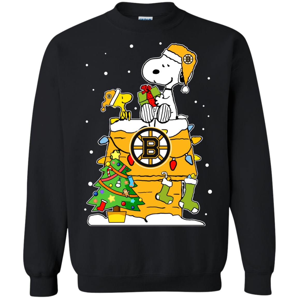 Boston Bruins Snoopy Ugly Christmas Sweaters Shirts
