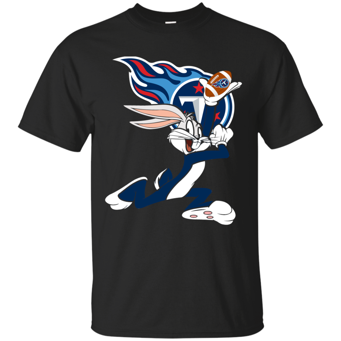Bunny Tennessee Titans T Shirt