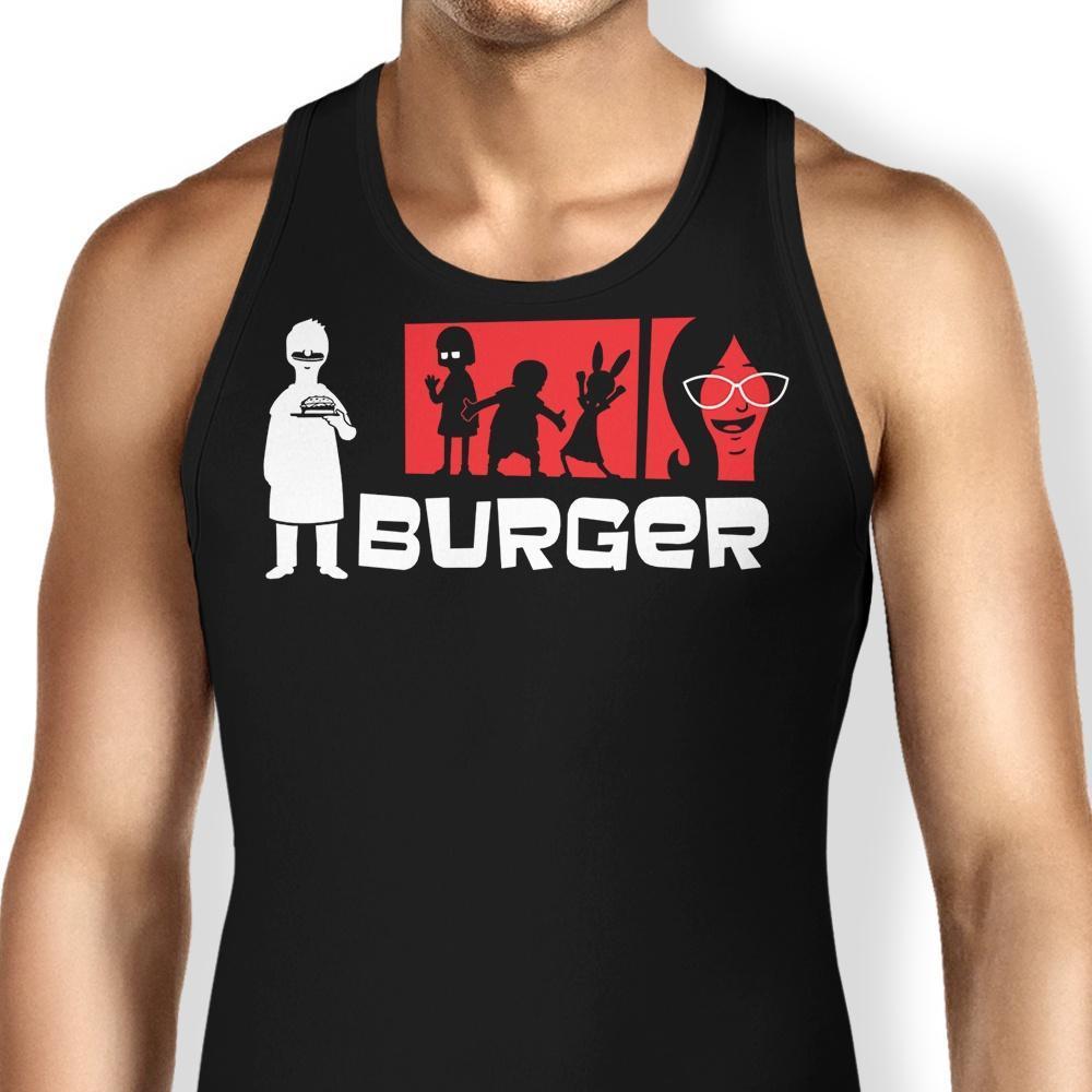 Burger Tank Top Shirts