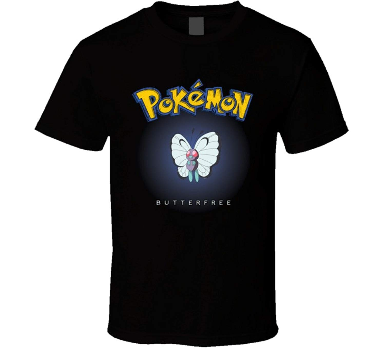 Butterfree Anime Pokemon T Shirt