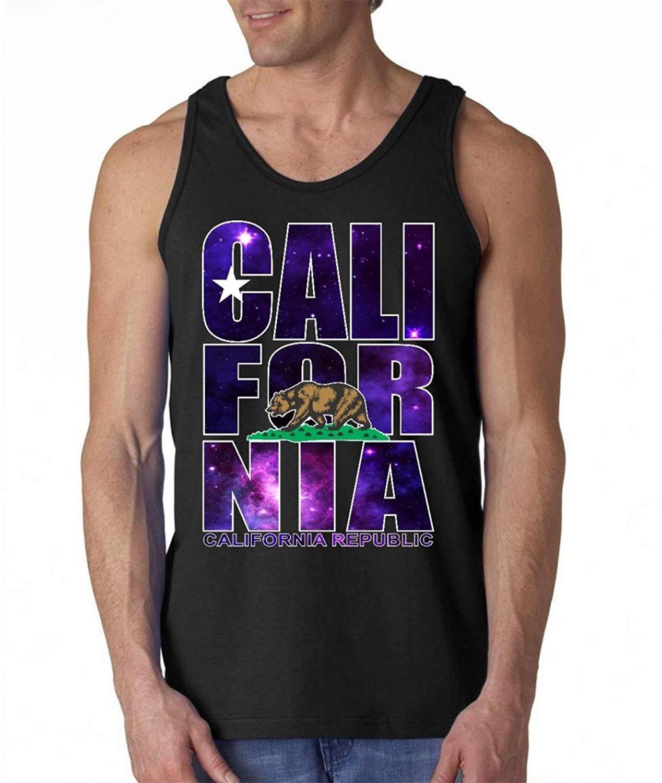 California Republic Galaxy Tank Top California Shirts California Clothing