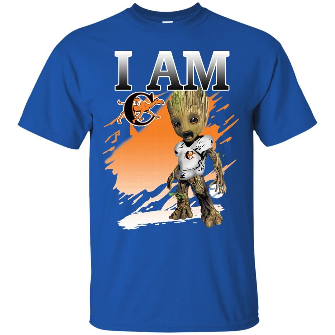 Campbell Fighting Camels Groot I Am S S Shirts