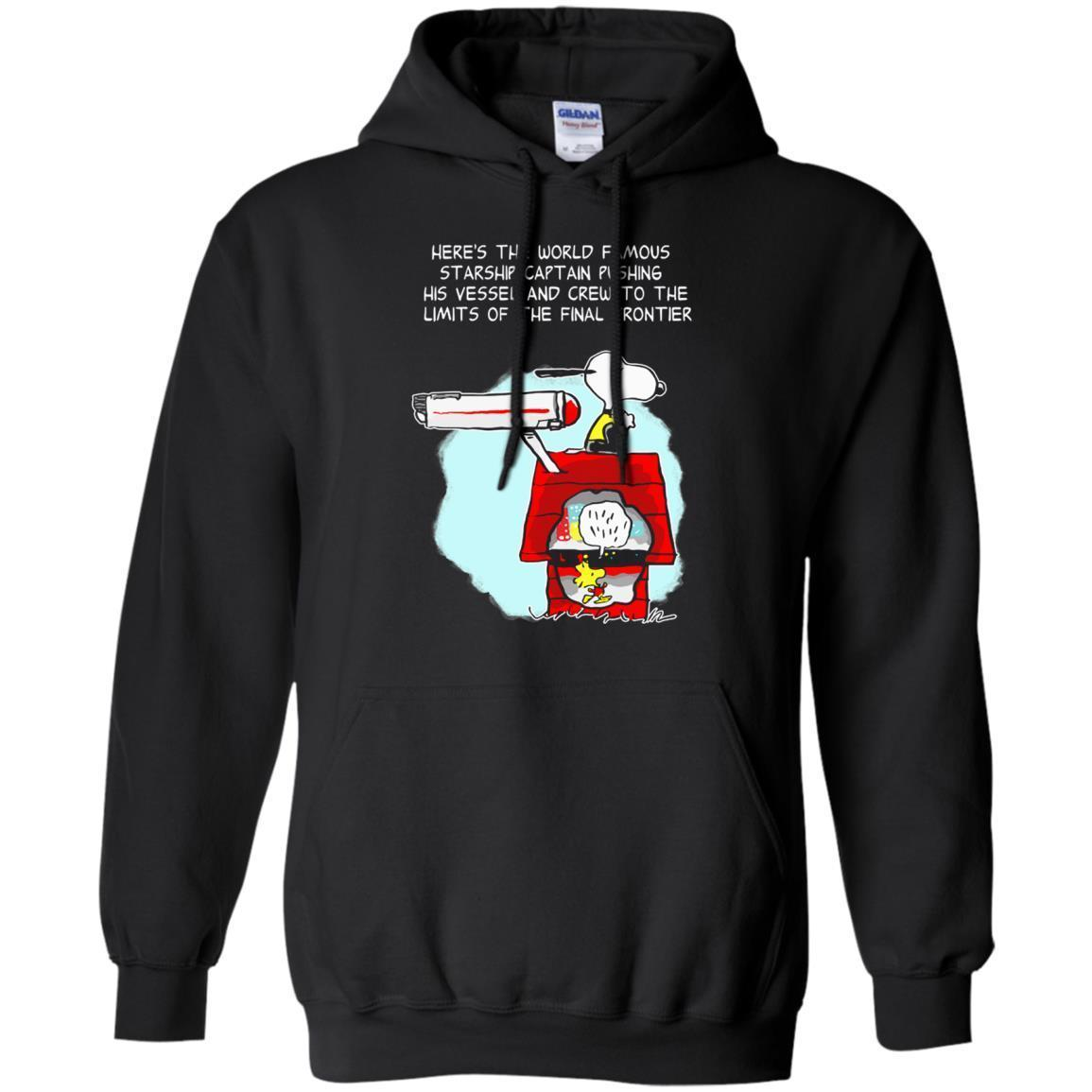 Check Out This Awesome Star Trek Snoopy And Woodstock S Shirts