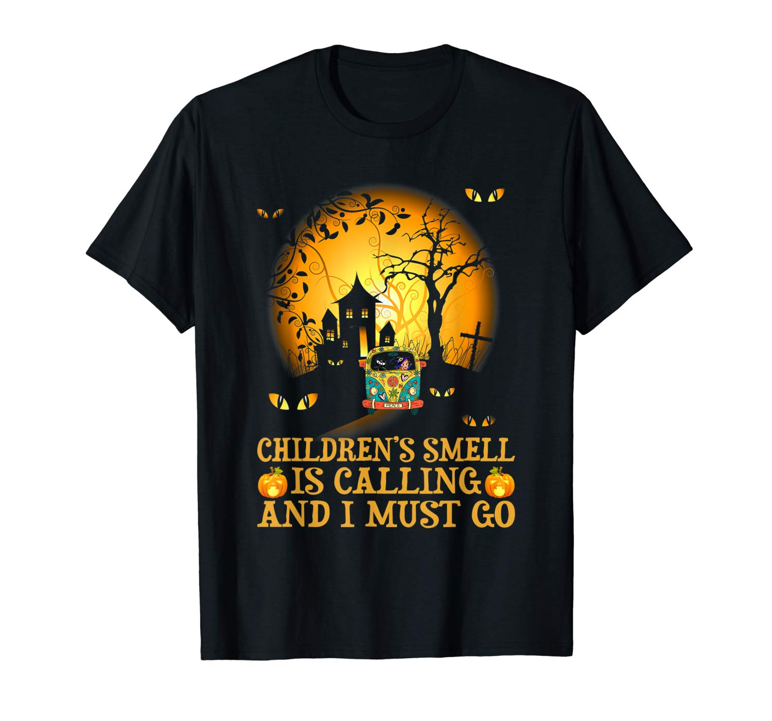 Children S Smell Is Calling And I Must Go Witch Halloween T Shirt