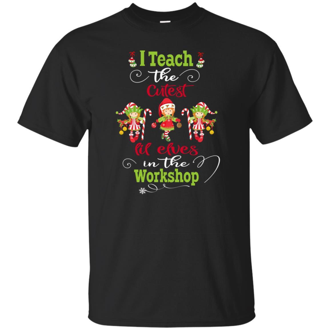 Christmas Tea Longsleeve Shirt Cutest Elves Gift Tee