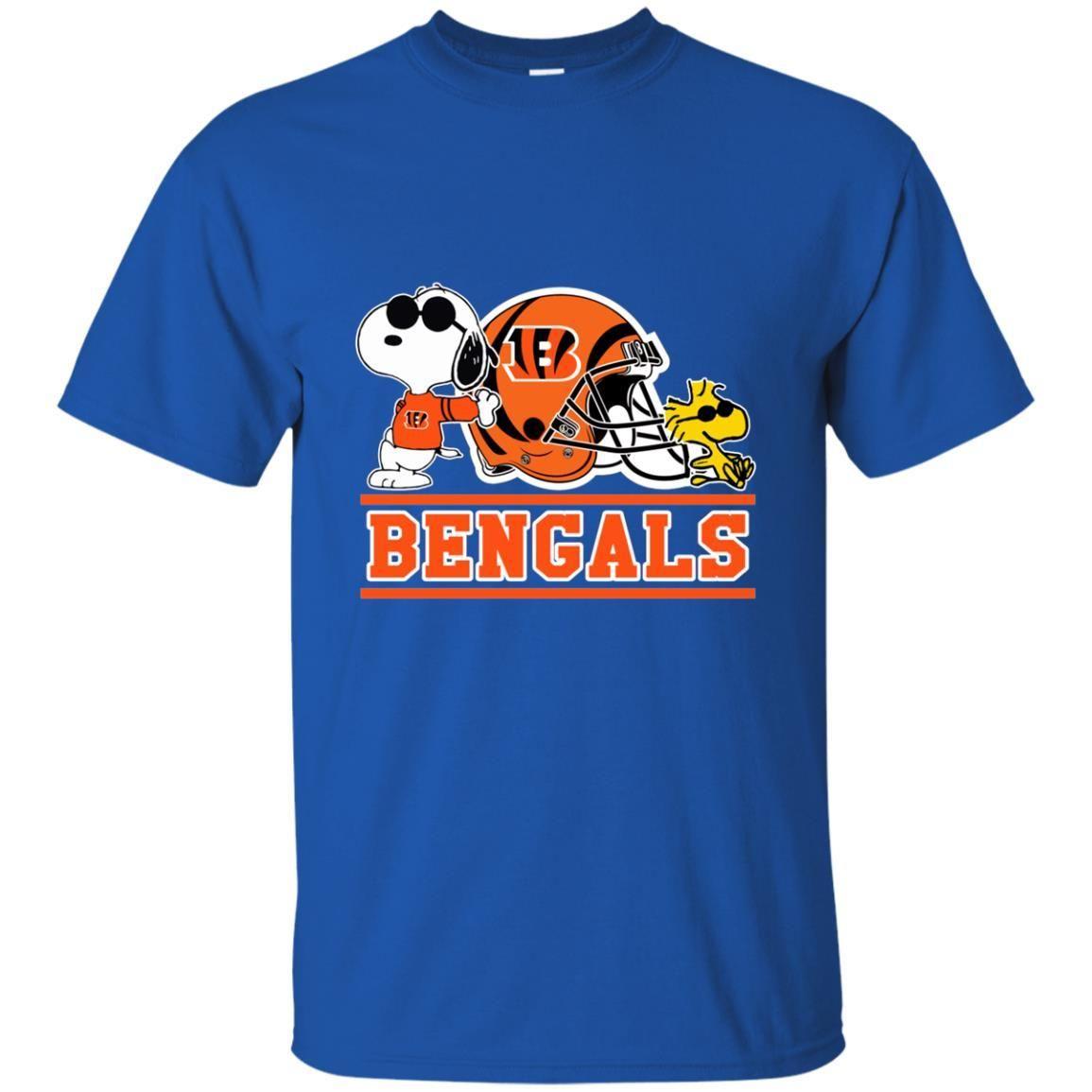 Cincinnati Bengals Snoopy S S Shirts