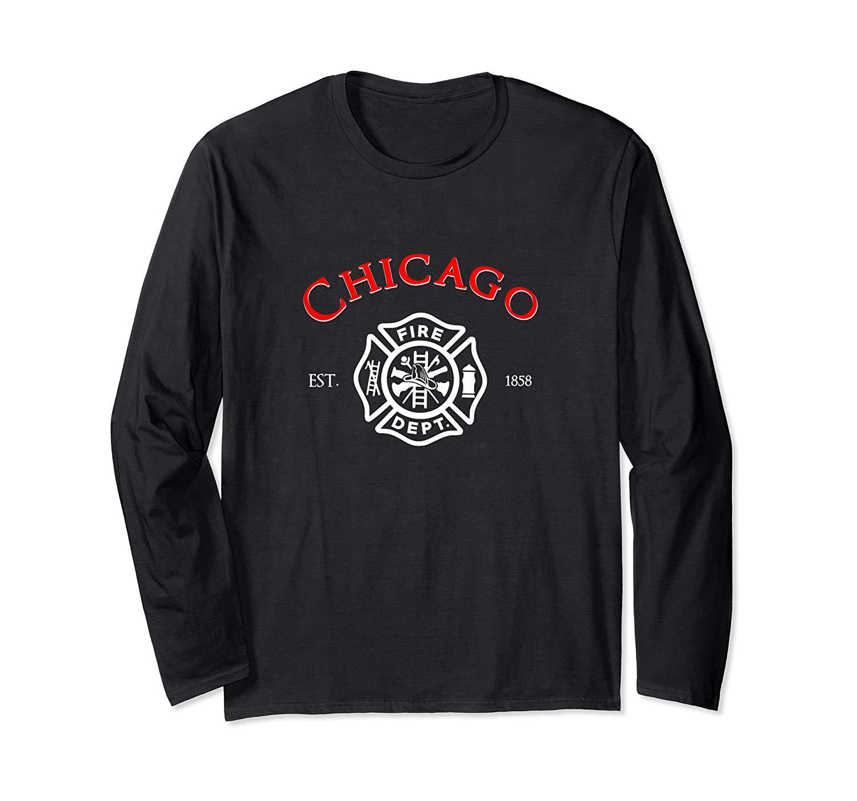 City Of Chicago Fire Departt Illinois Firefighter Shirt