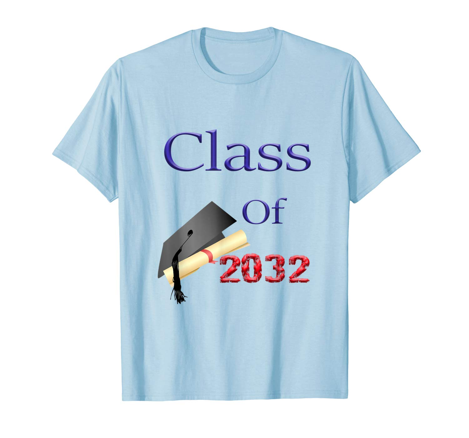 Class Of 2032 First Day Of School Shirts