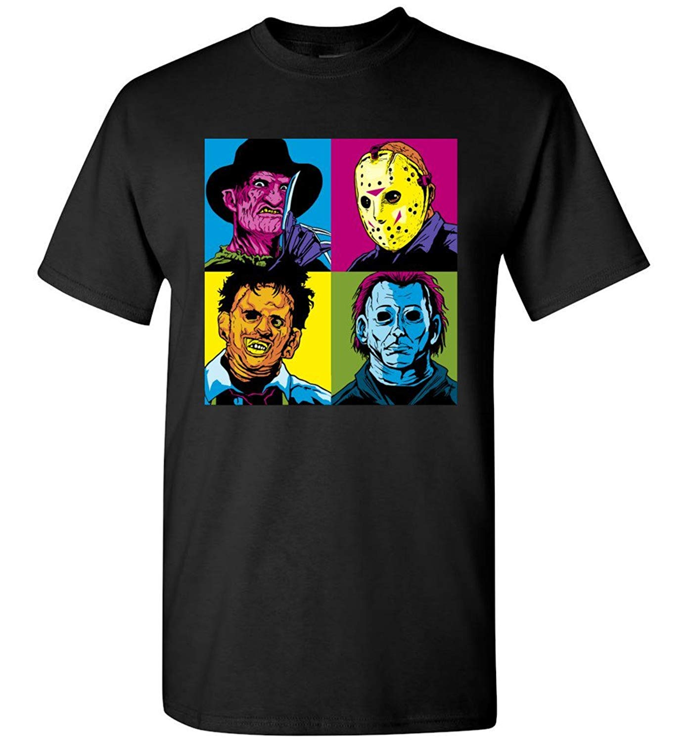 Clothingforfun Halloween Michael Myers And His Accomplices T Shirt