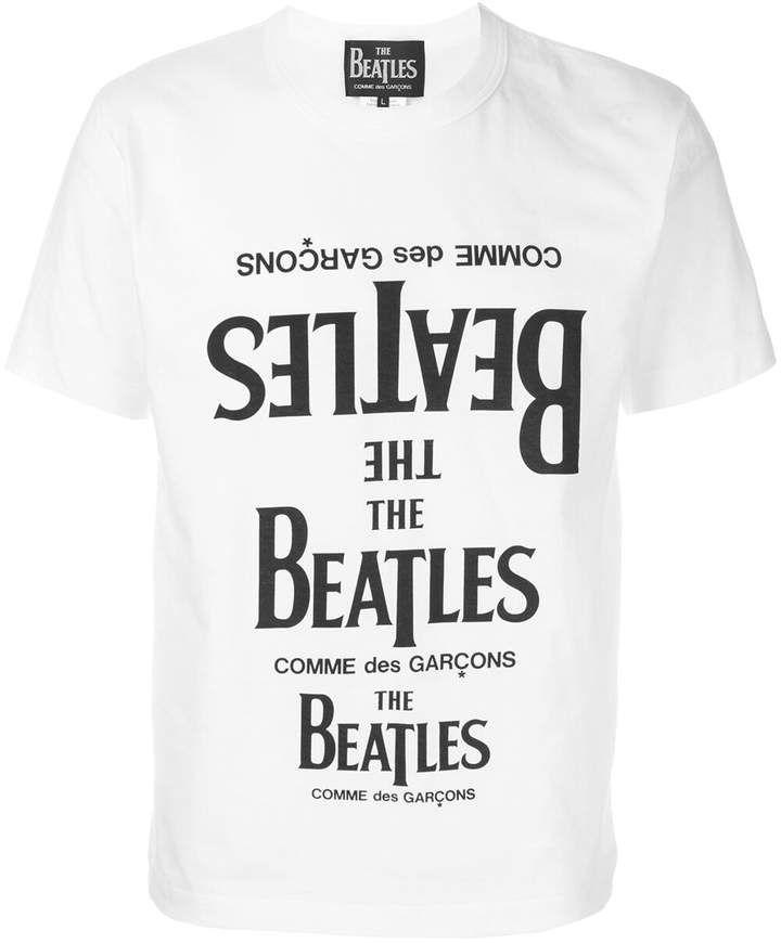 Comme Des Garcons The Beatles X The Beatles X Shirts