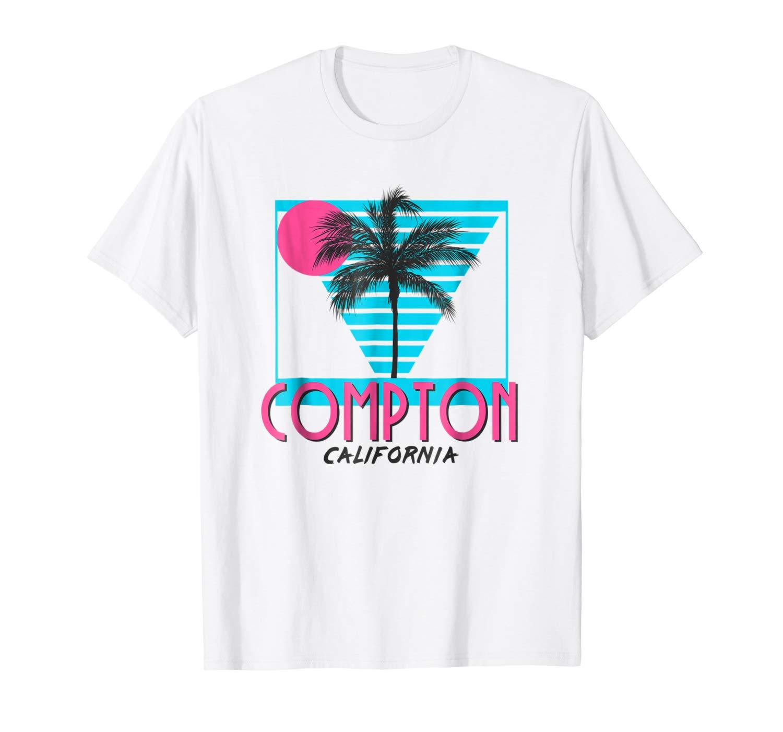Compton California T Shirt Retro Cool