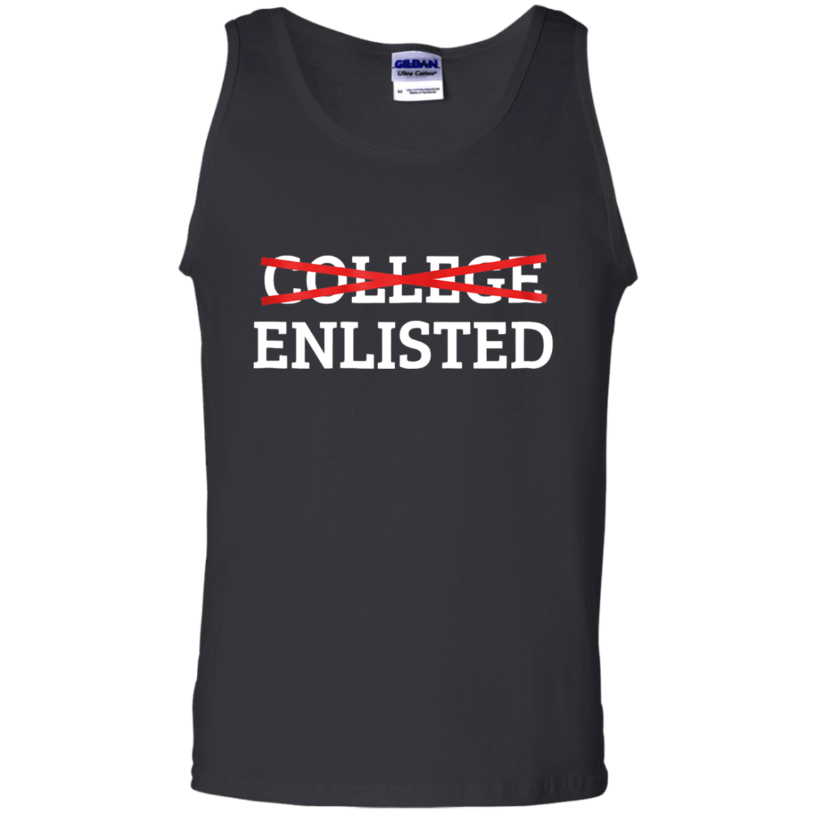 Cover Your Body With Amazing College Enlisted Unisex Tank Top Shirts