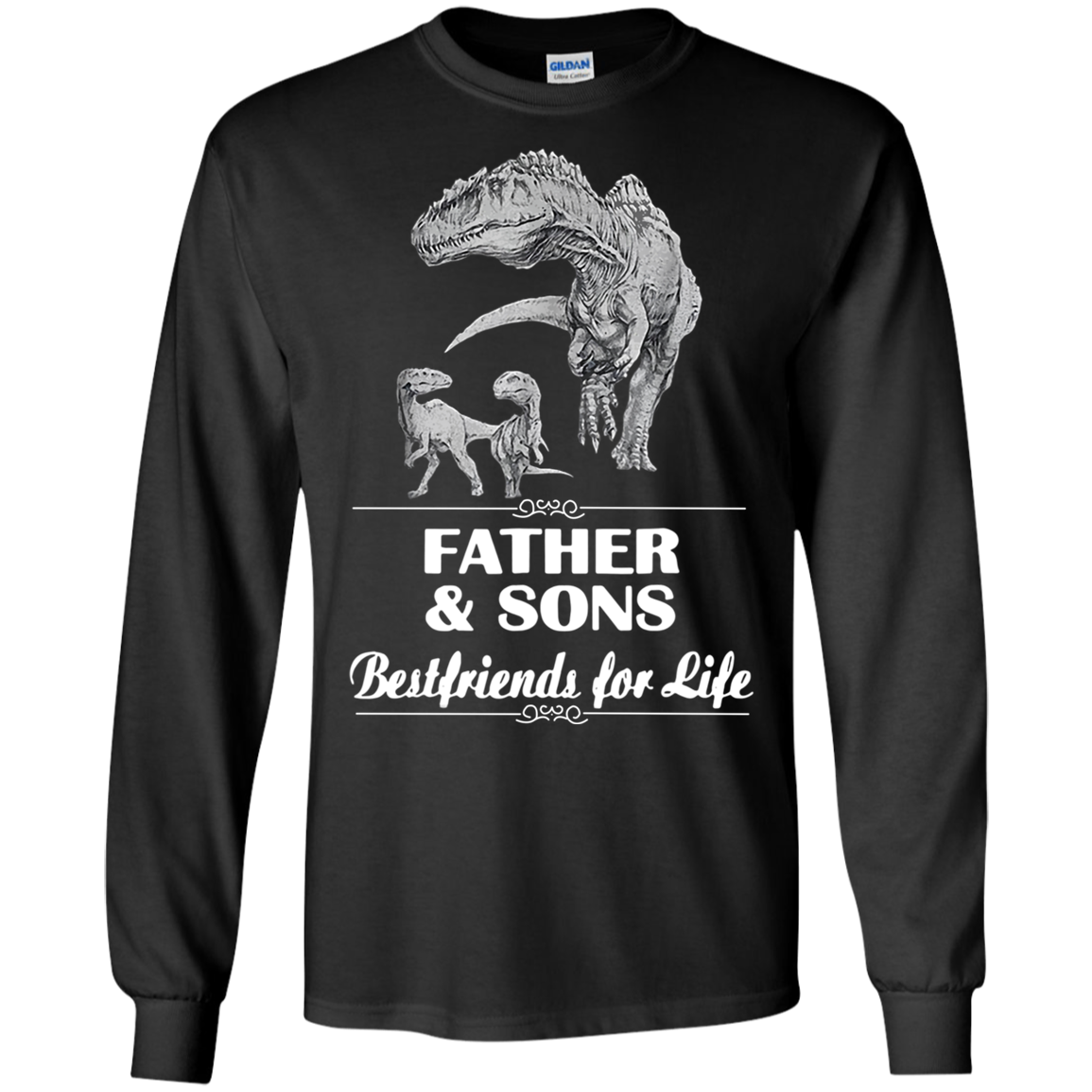 Cover Your Body With Amazing Dinosaurs Father And Sons Best Friend For Life Shirt Ultra Co