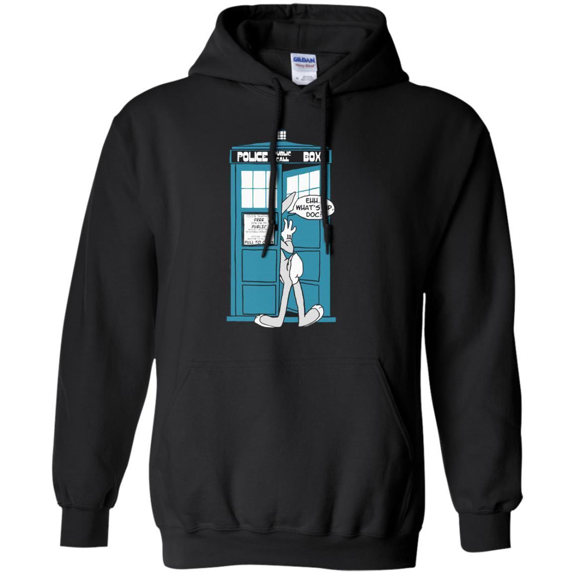 Cover Your Body With Amazing Police Public Call Box Bugs Bunny Doctor Who Mashup S Shirts