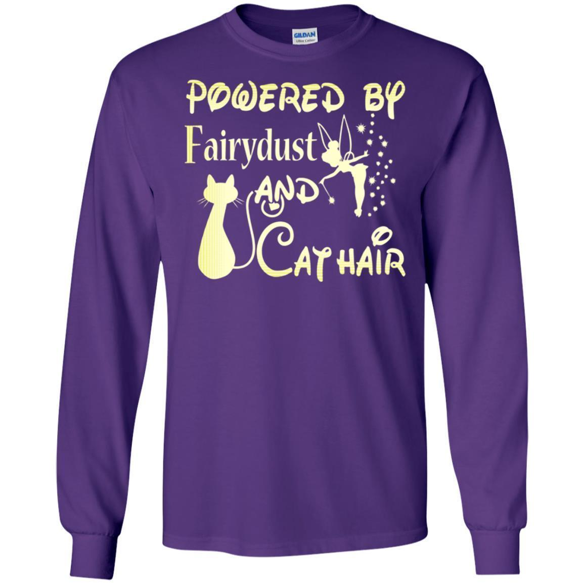 Cover Your Body With Amazing Powered By Fairydust And Cat Hair Ts Shirts