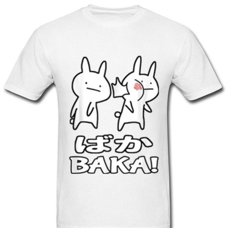 Cute Anime Baka Rabbit Slap Shirt