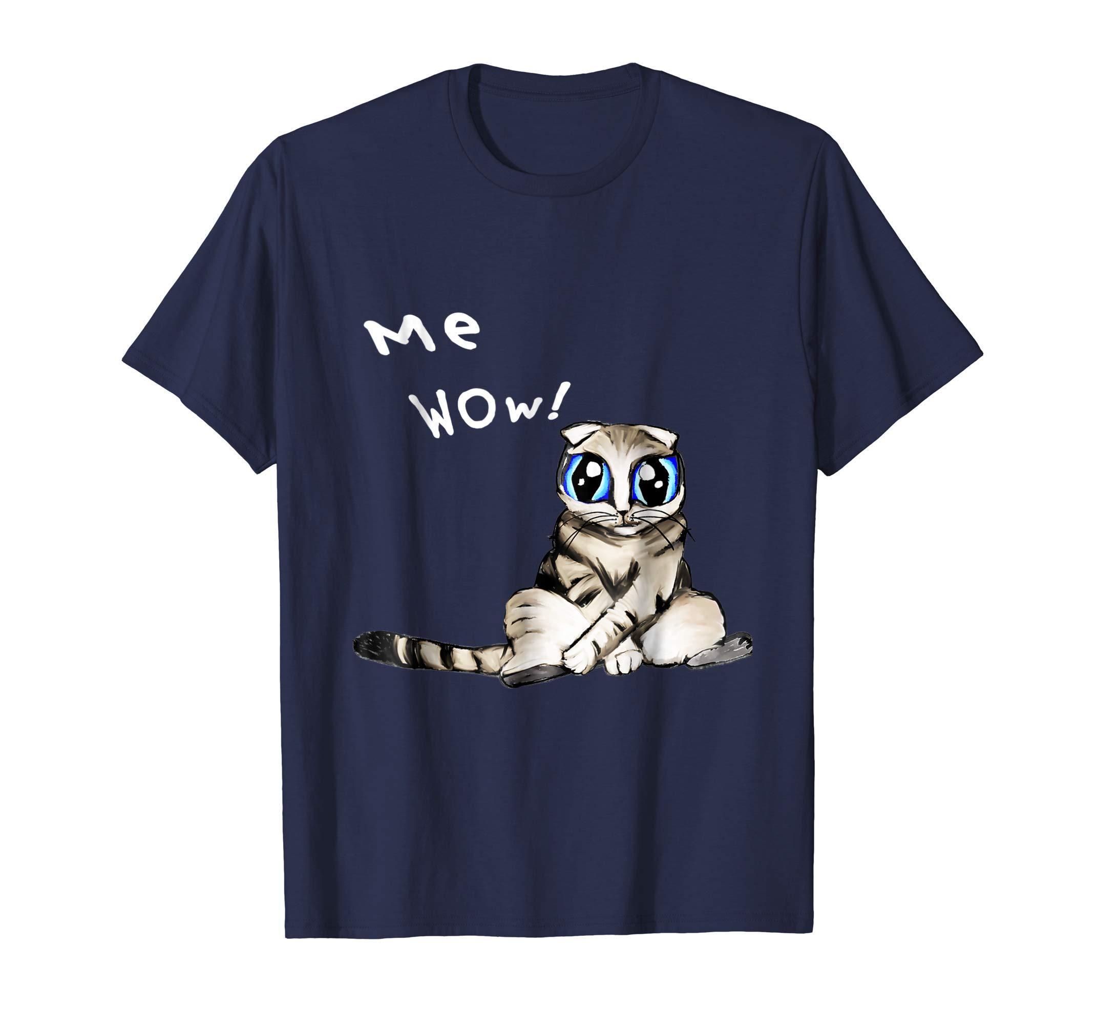 Cute Kitty Cat Me Wow Shirt
