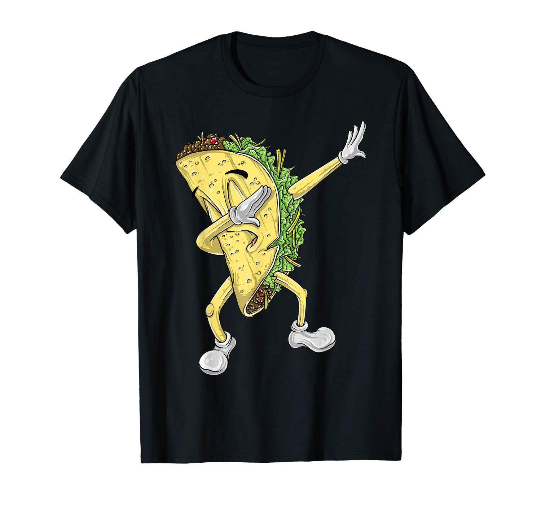 Dabbing Taco Shirt Funny Taco Shirt