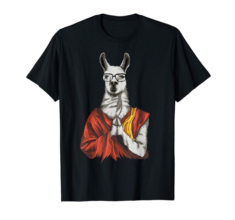 Dalai Lama Dali Cute Meditation Funny Gift T Shirt
