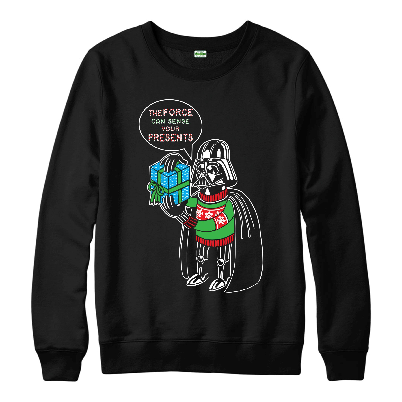 Darth Vader Christmas Jumper Star Wars Force Festive Adult Jumper Top Shirts