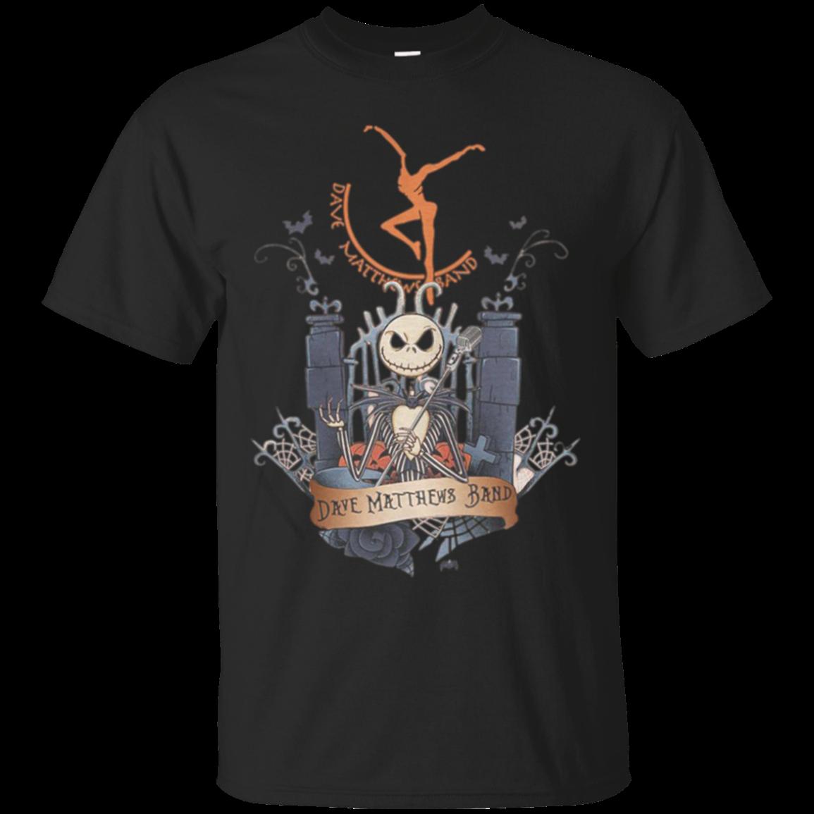 Dave Matthews Band Jack Skellington G200 Ultra T Shirt
