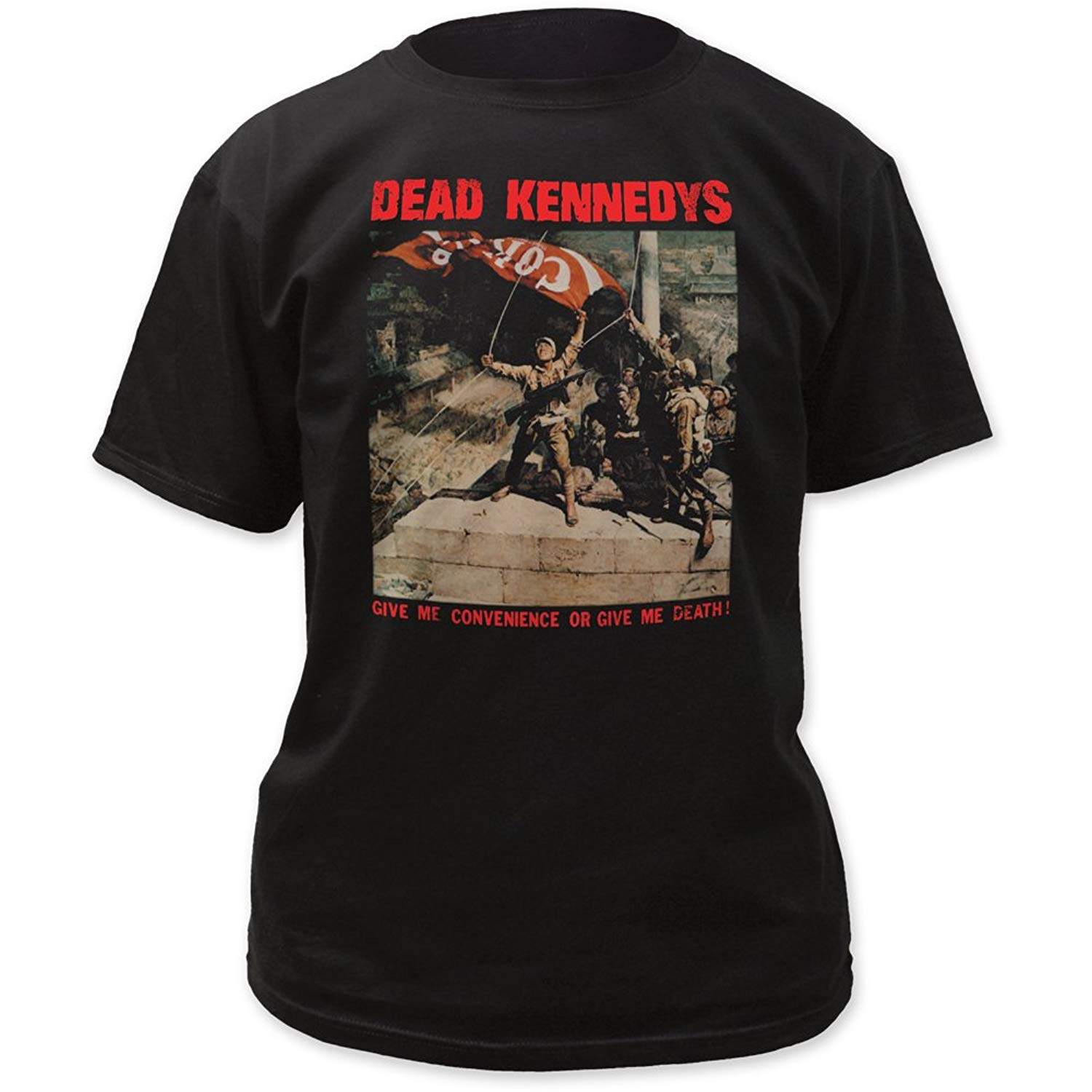 Dead Kennedys Give Me Convenience Or Give Me Death Print Shirt