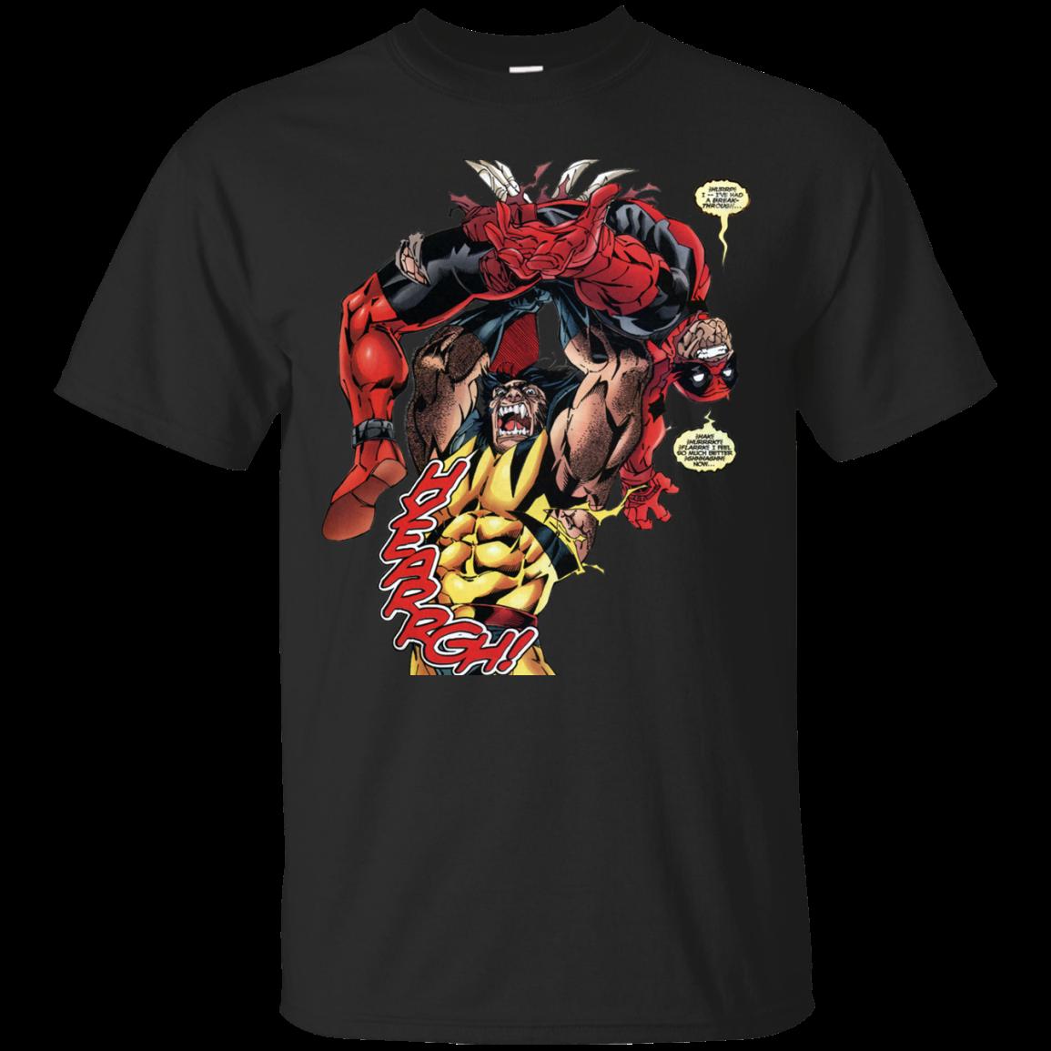 Deadpool Vs Wolverine T Shirt