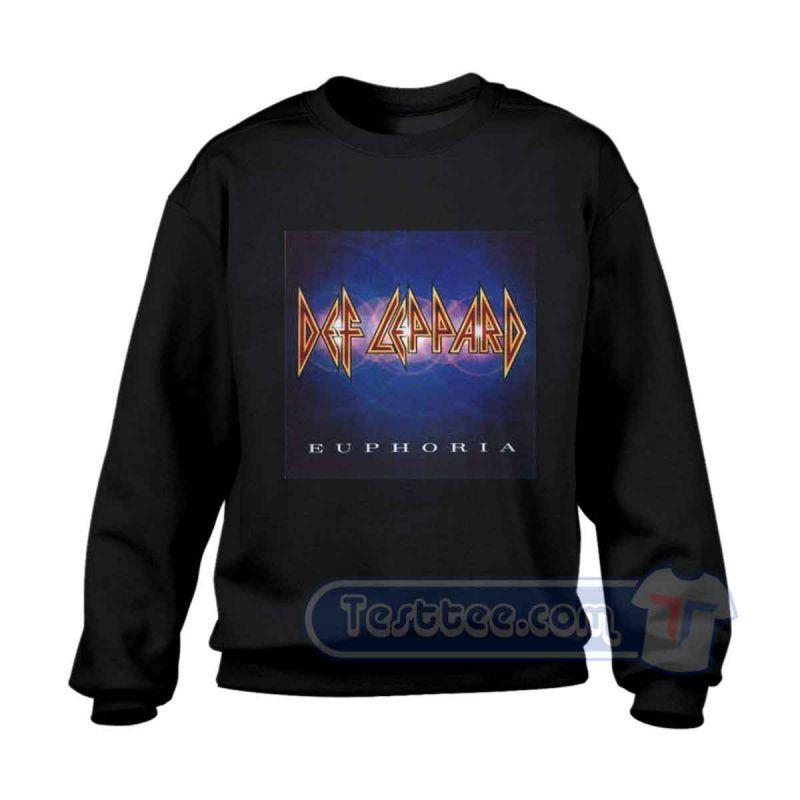 Def Leppard Euphoria Shirts
