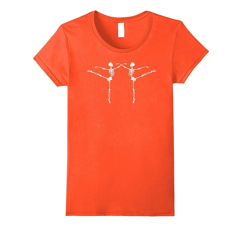Discover Cool Dancing Ballerina Skeletons Shirt