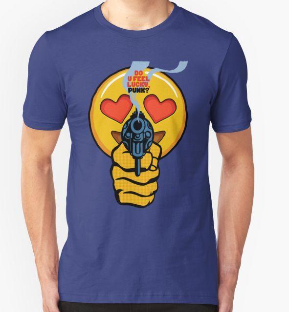 Do U Feel Emoji Punk Dirty Harry At Redbubble Shirts