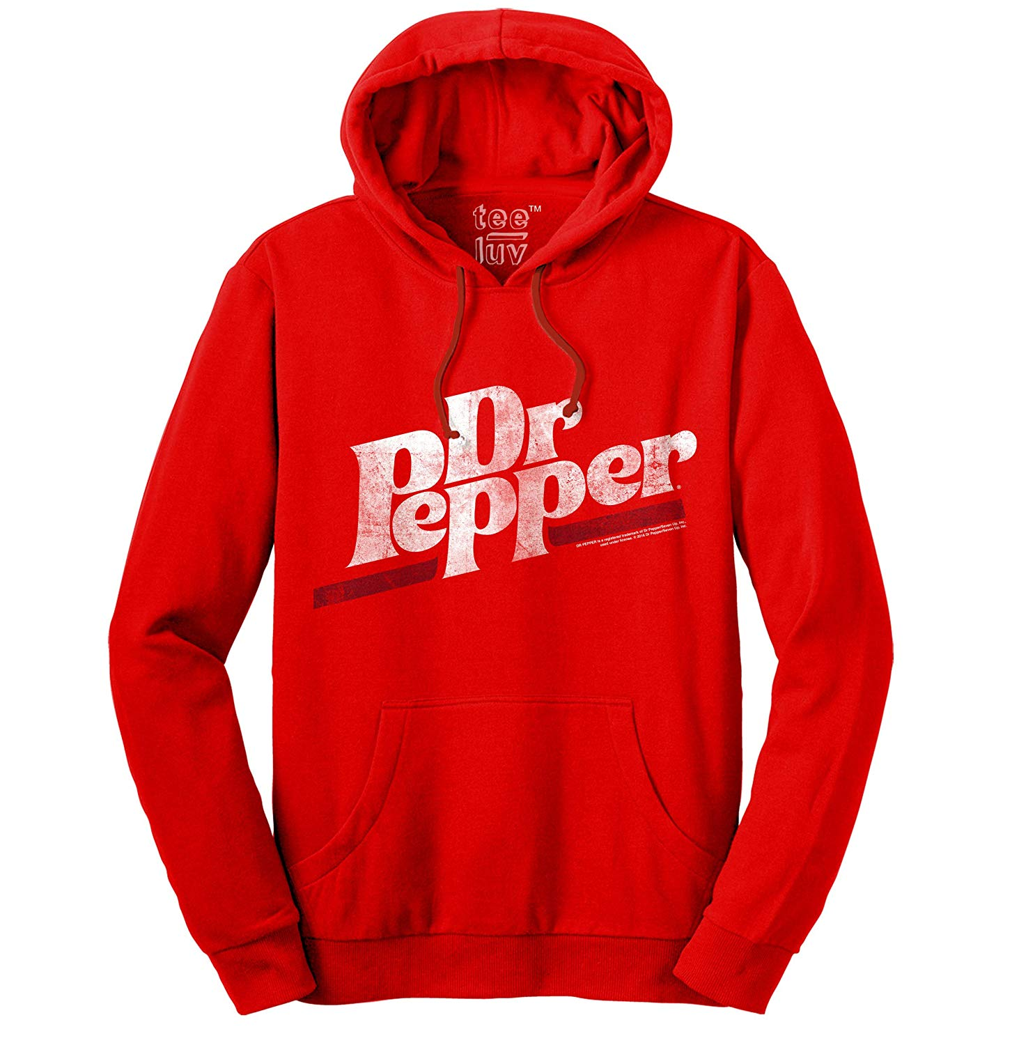 Dr Pepper Distressed Logo Soft Touch Shirts