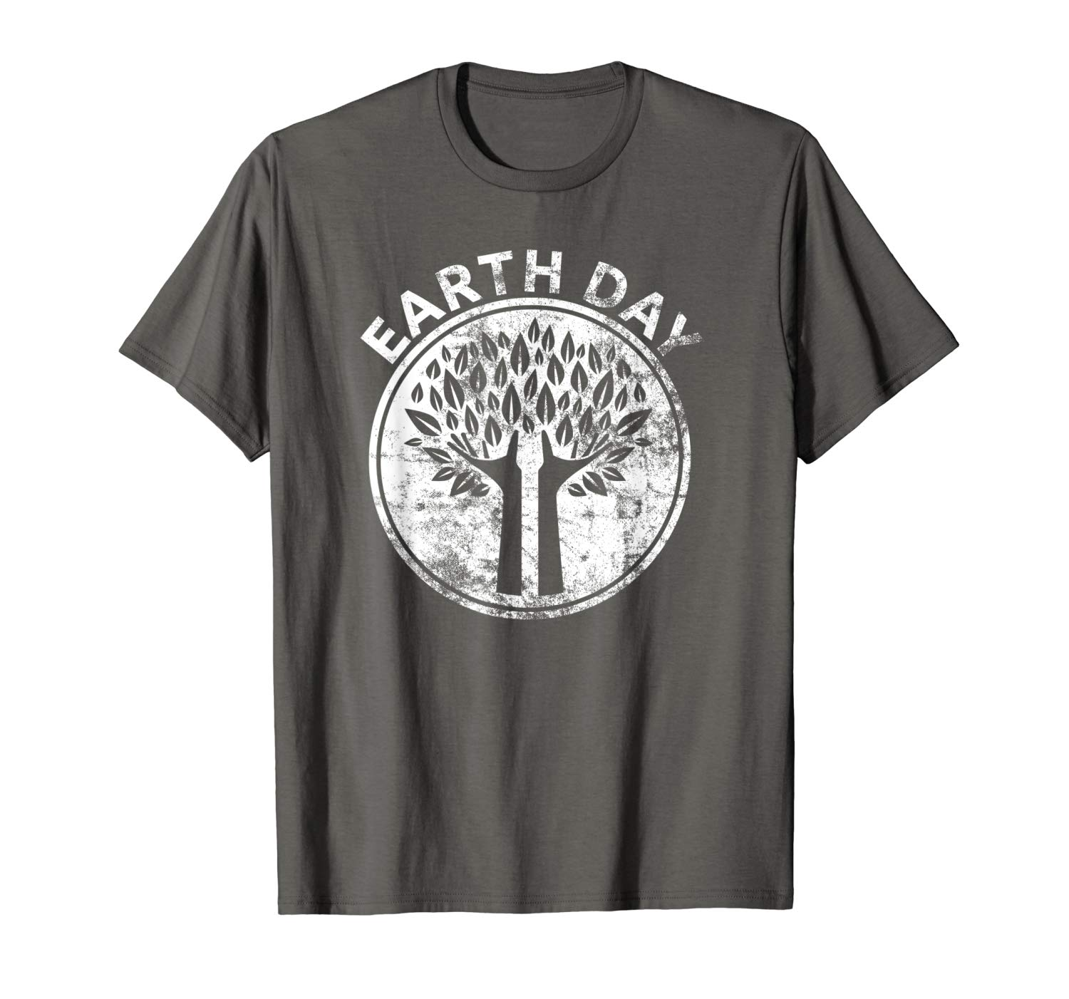 Earth Day T Shirt Hands Tree Lover Nature