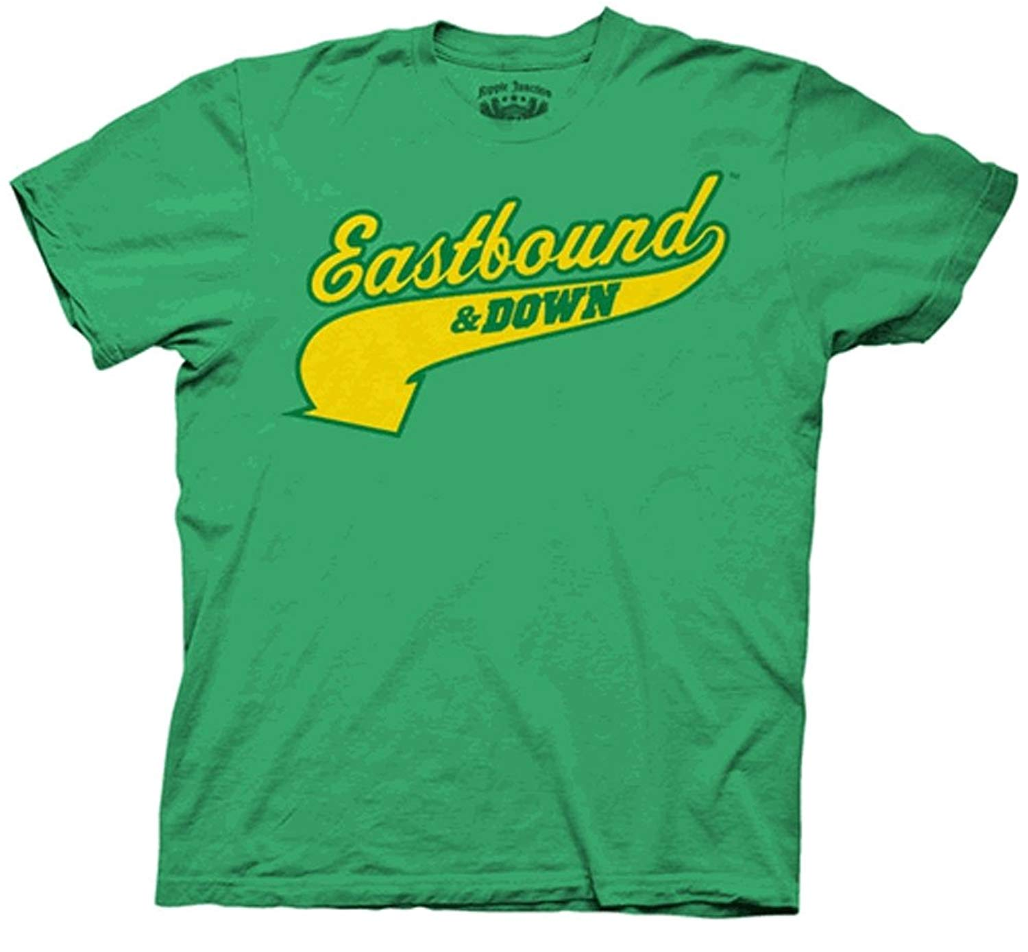 Eastbound And Down Charros Kenny Powers 55 Green Adult T Shirt Tee