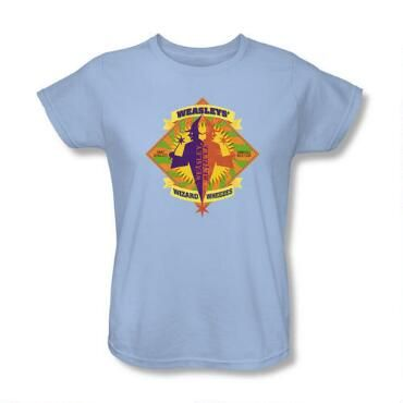 Exclusive Weasleys Wizard Wheezes S Relaxed Light Blue Shirts