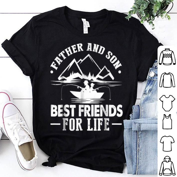 Father And Son Best Friends For Life Dad Fishing Shirt