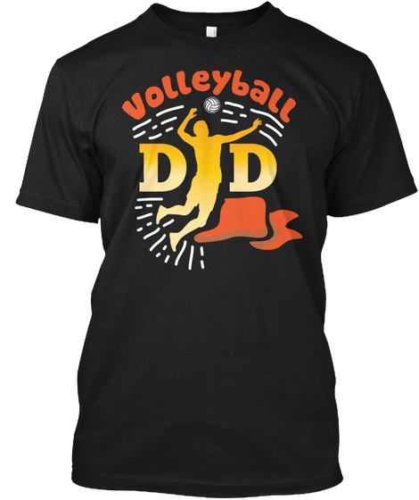 Father Fathers Day Volleyball Dad Shirts