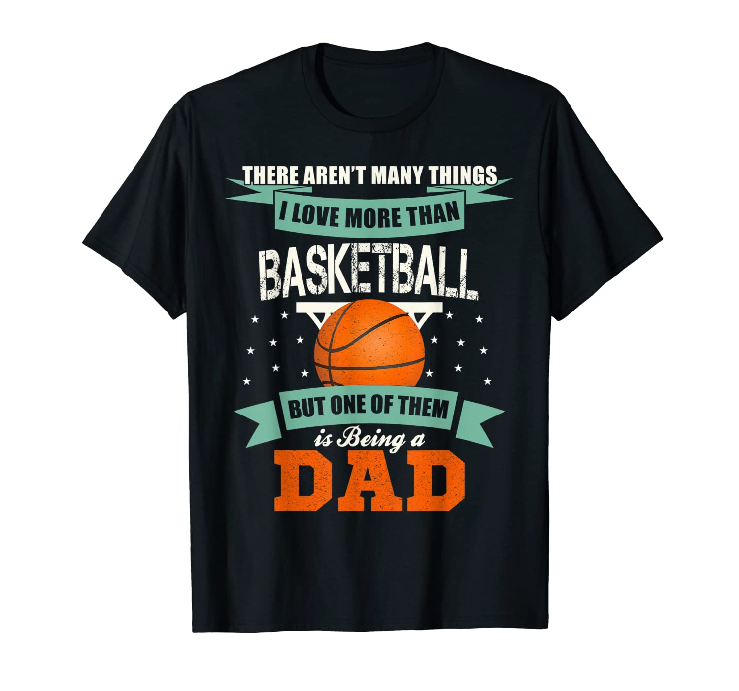Fathers Day Basketball Dad Player Coach Papa Gift Ideas T Shirt