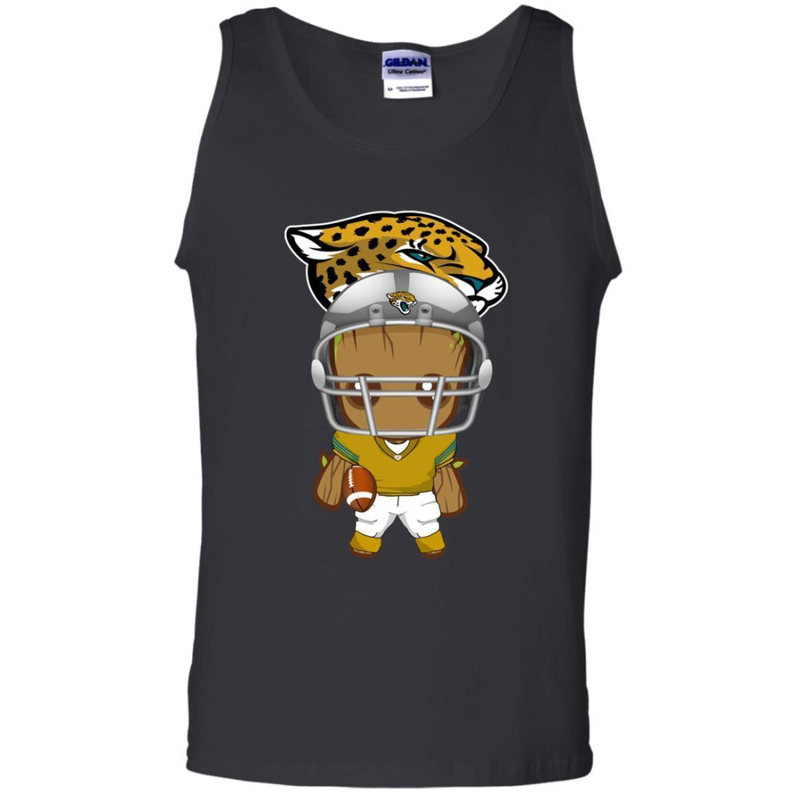 Find Baby Groot Jaguars Nfl Champions Tank Top Shirts