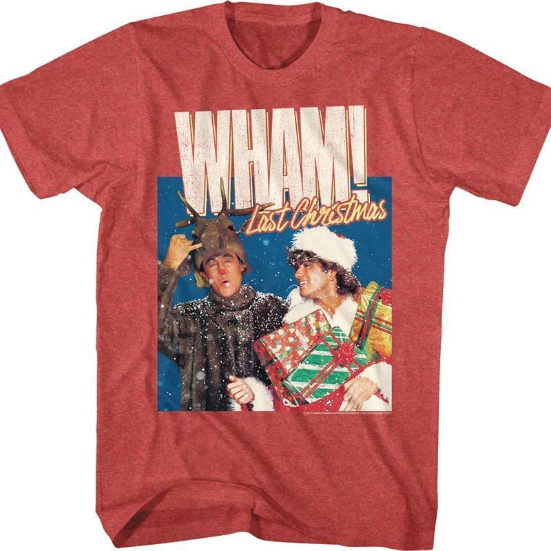 Find George Michael Last Christmas Wham T Shirt