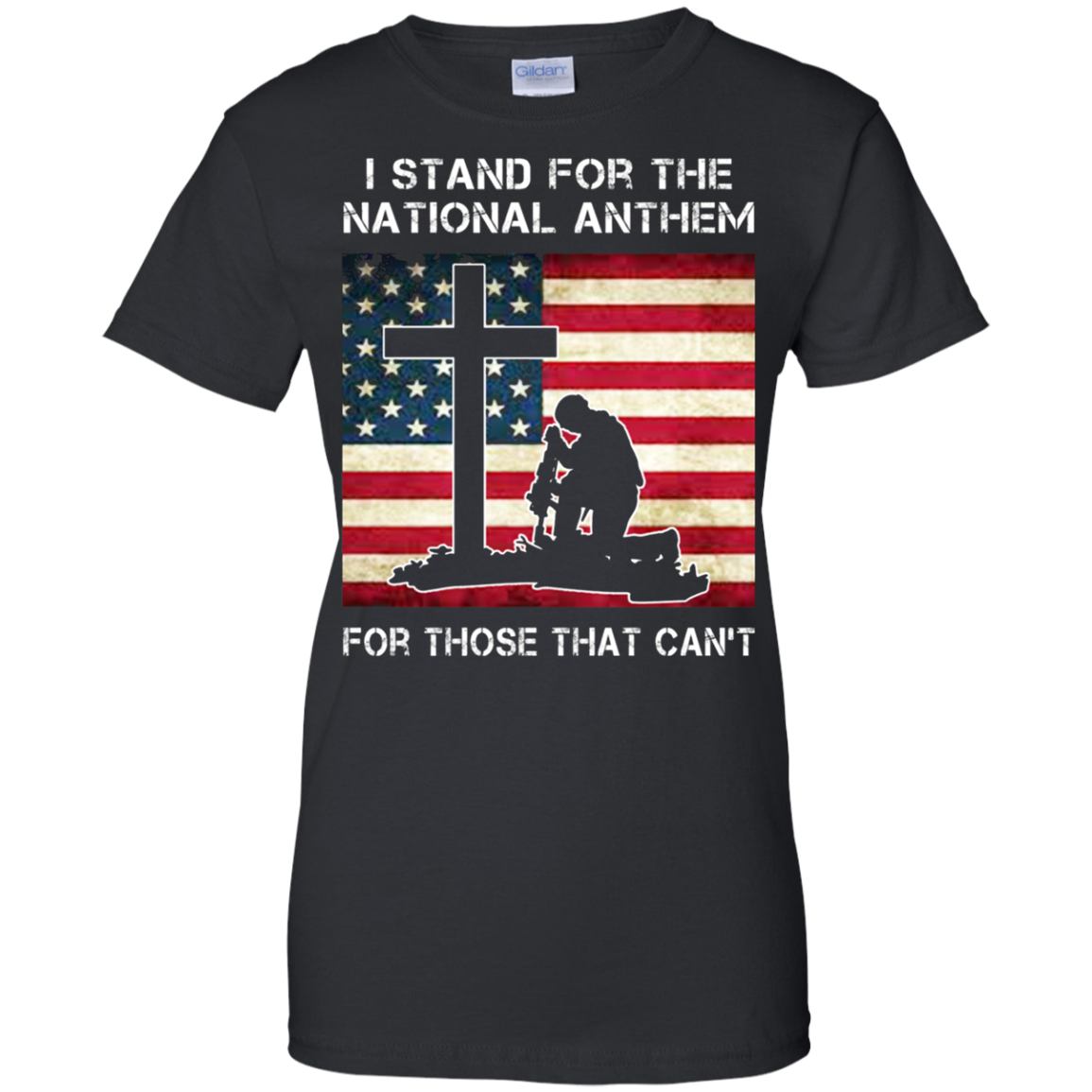 Find I Stand For The Anthem For Those That Can Shirts