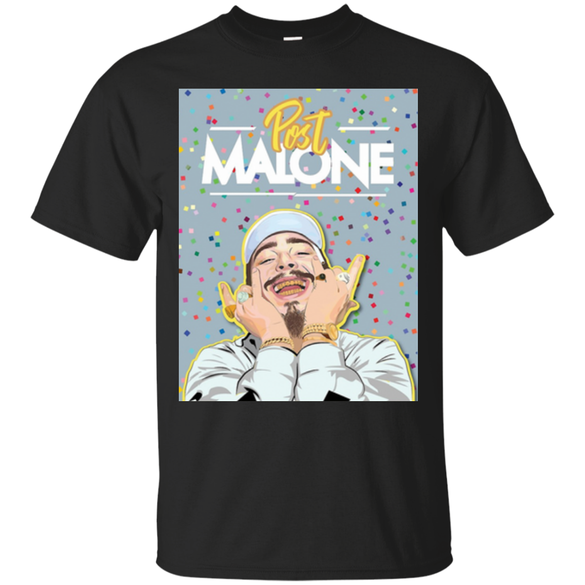 Find Post Malone Smiling T Shirt Sweater
