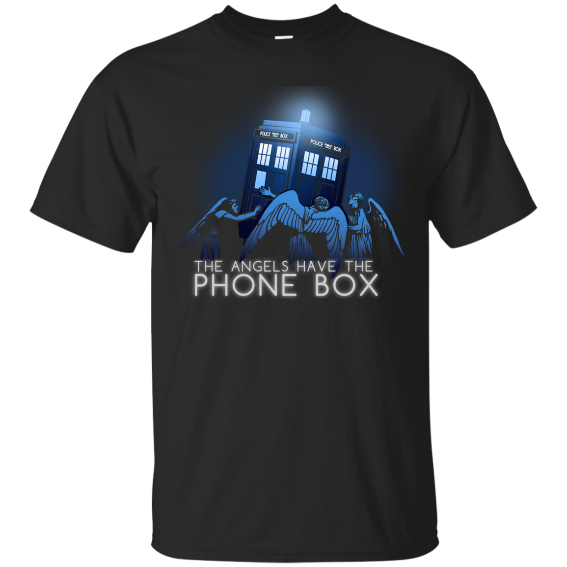 Find The Angels Have The Phone Box T Shirt