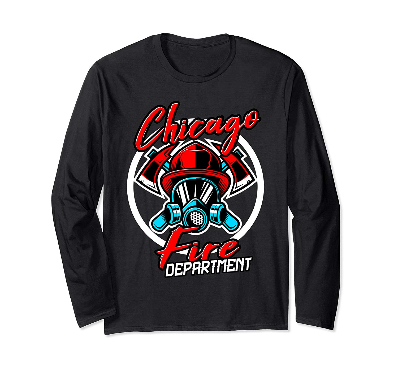 Firefighter Fire Departt Chicago Funny Station Gift T Shirt