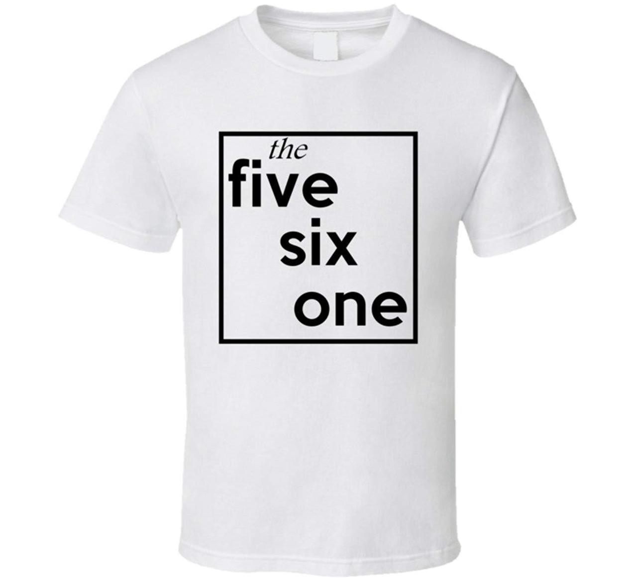 Five Six One Florida 561 Fun Cool Area Code City Pride T Shirt