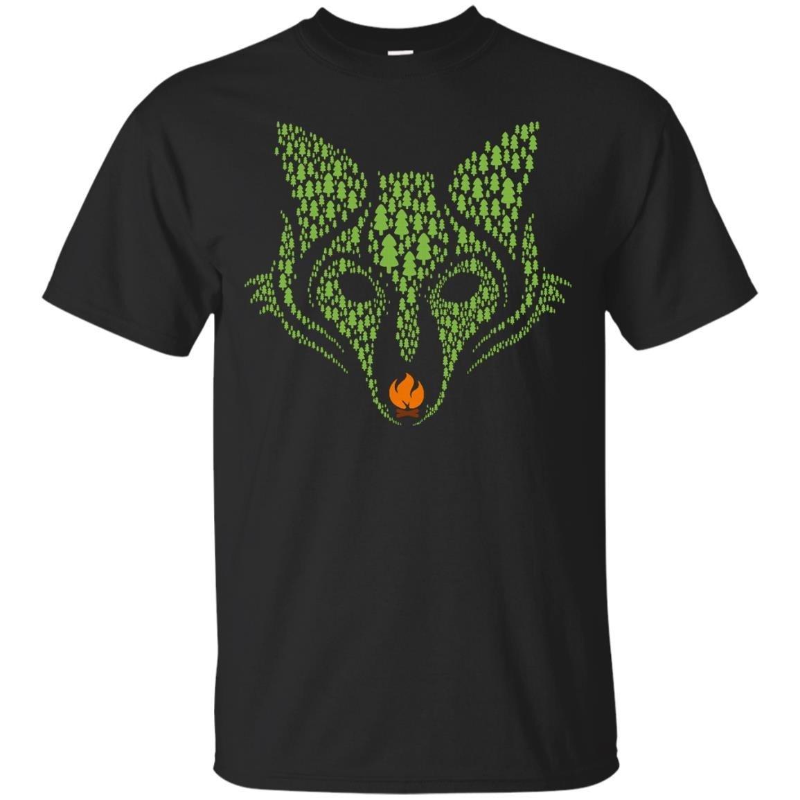Fox Path Campfire T Shirt